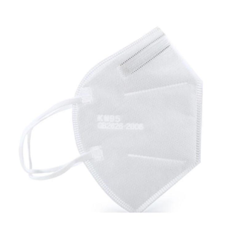 Wit FFP2 mondmasker met oor-elastieken