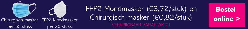 Banner mondmaskers
